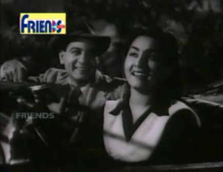 Motilal and Meena Shorey in Ek Thi Ladki