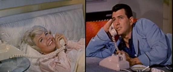 Doris Day and Rock Hudson in Pillow Talk