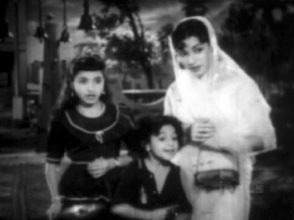 Soni and her mother meet Ramu at the temple