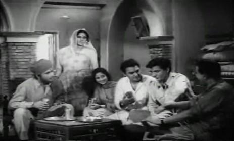 Bhagat Singh with Durga bhabhi, his sister, Sukhdev, et al