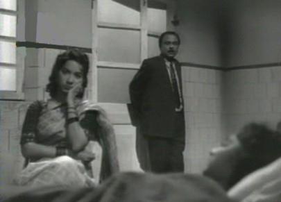 The scene in the hospital, in CID
