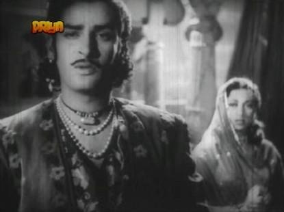 Shammi Kapoor and Suraiya in Shama Parwana