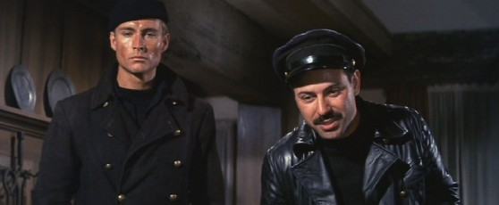 Alan Arkin and John Phillip Law in The Russians are Coming the Russians are Coming