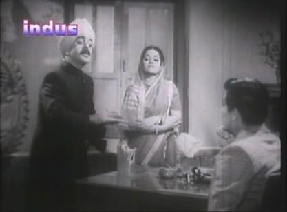 Professor Anand and Krishna meet Manohar