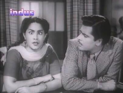 Meena Shorey and Ajit in Dholak