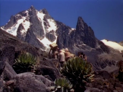A scene from King Solomon's Mines