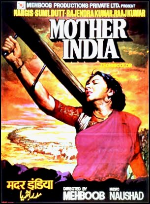 And his iconic poster for Mother India