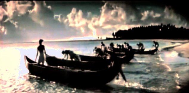 The boats at Worli