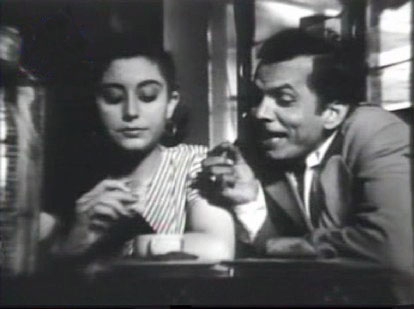 Johnny Walker as Johnny in Mr & Mrs 55, with Yasmin