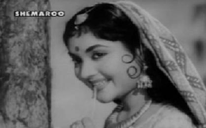 Vyjyantimala in and as Madhumati