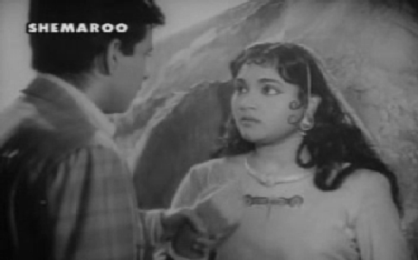 Anand meets a beautiful village girl