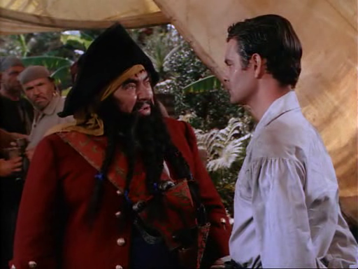 Blackbeard accuses Pierre...