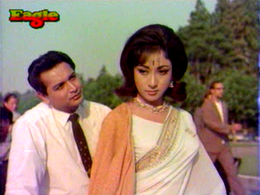 Biswajeet and Mala Sinha in Pyaar ka Sapna