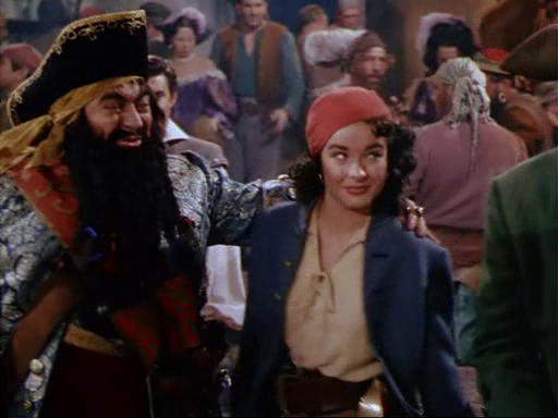 Anne's mentor and foster-father, Blackbeard