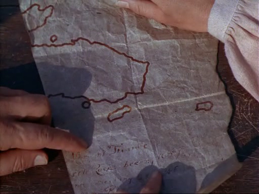 The map to Henry Morgan's treasure