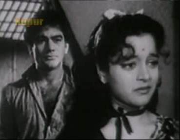 Premnath and Nalini Jaywant in Naujawan