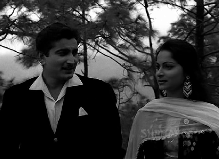 Kamaljit and Waheeda Rehman in Shagoon