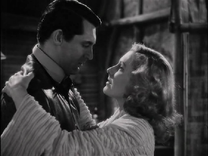 Cary Grant and Jean Arthur in Only Angels Have Wings