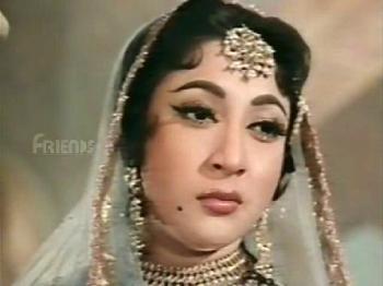 Mala Sinha, in and as Jahanara