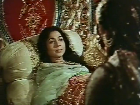 Mumtaz Mahal on her deathbed