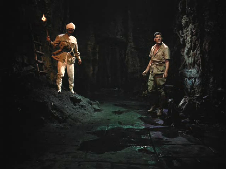 Berger and Asagara head down into the depths of the palace