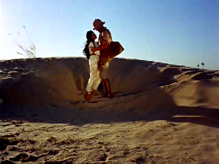A desperate race through the desert