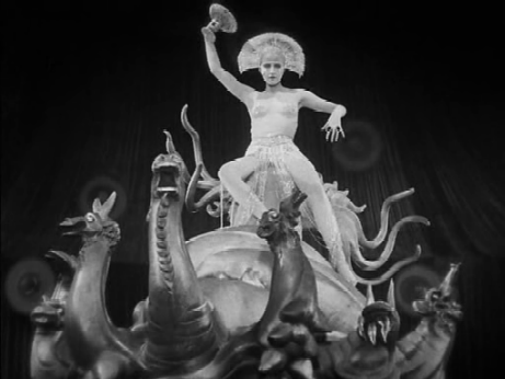 The 'woman atop a scarlet beast...'