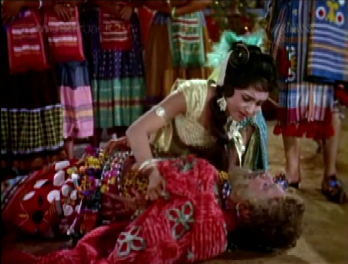 ... and Sangeeta's father is killed