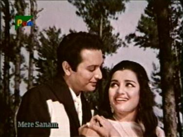 Biswajeet and Asha Parekh in Mere Sanam
