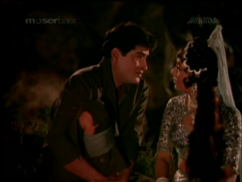 Sangeeta falls in love with a stranger, Bhagatram