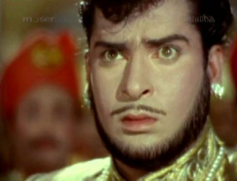 ... as the foppish Prince Bhanu Pratap Singh