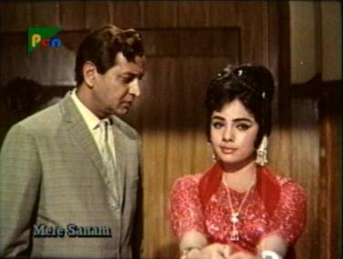 Mumtaz as Kammo in Mere Sanam
