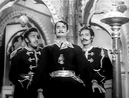 The senapati listens to his advisers