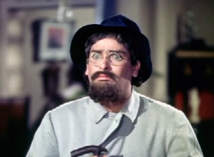 Shammi Kapoor as 'Professor Khanna'