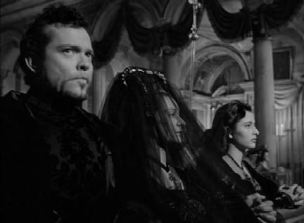 At Lucrezia Borgia's husband's funeral