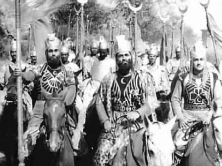 Babur marches into India...