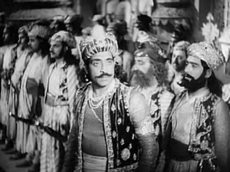 Jai Singh resents the princess's alliance with Babur