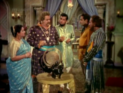 Bhanu finds himself thwarted by Kalavati and Narpat Singh