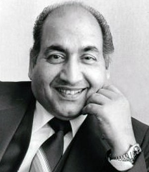 Mohammad Rafi (much later, after my Nana used to see him in Lahore)