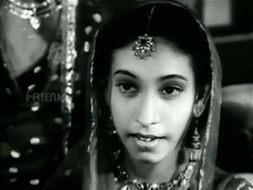 Sheela Naik as a dancing girl in Mahal