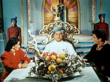 The Maharaja makes an announcement