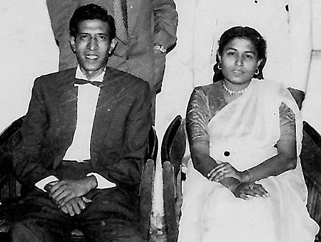 My Vernie tau with his wife, Sheila