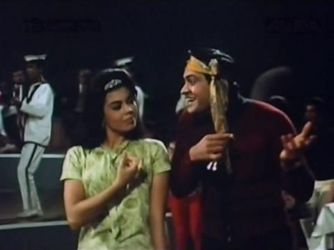 Edwina with Joy Mukherjee in Shagird
