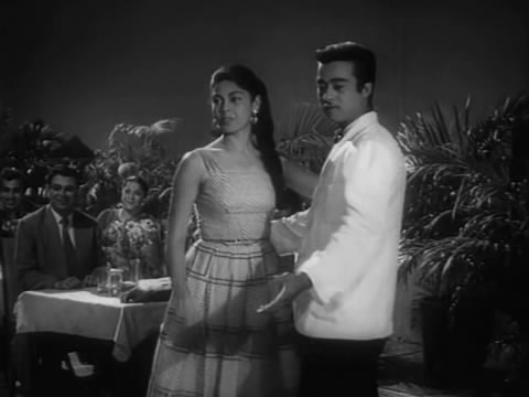 A dance sequence from Shriman Satyawadi - Edwina with Abe Cohen