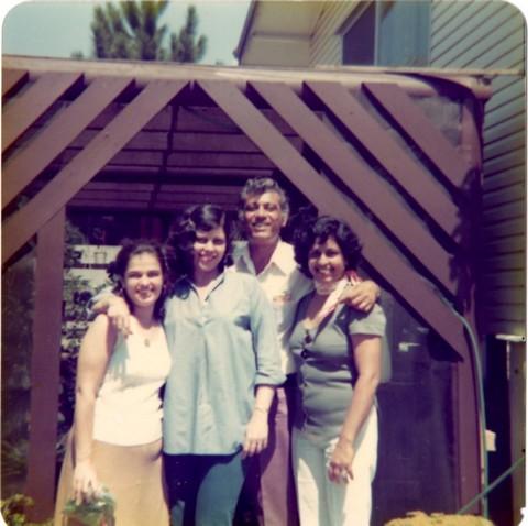Edwina and family