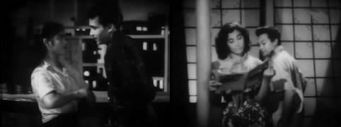 Saroj Khan and Tony, Pamela and P L Raj
