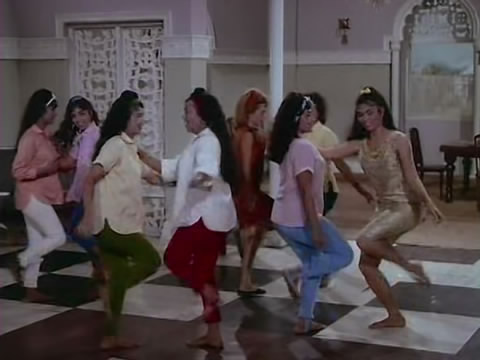 A dance sequence from Aarzoo