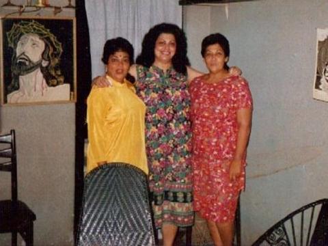 Teresa, Edwina and Pamela