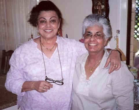 Edwina with Marie