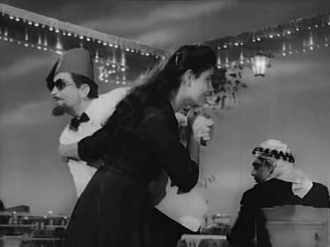 Edwina with Raj Kapoor